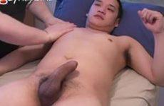 Zijn eerste erotische massage