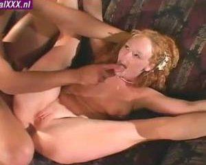 Zijn kersverse bruid ontpopt zich als geile anaal sloerie