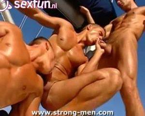 Geile sterke mannen